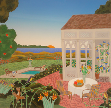 Hamptons Suite of 12, (New York) 1987 by Thomas Frederick McKnight