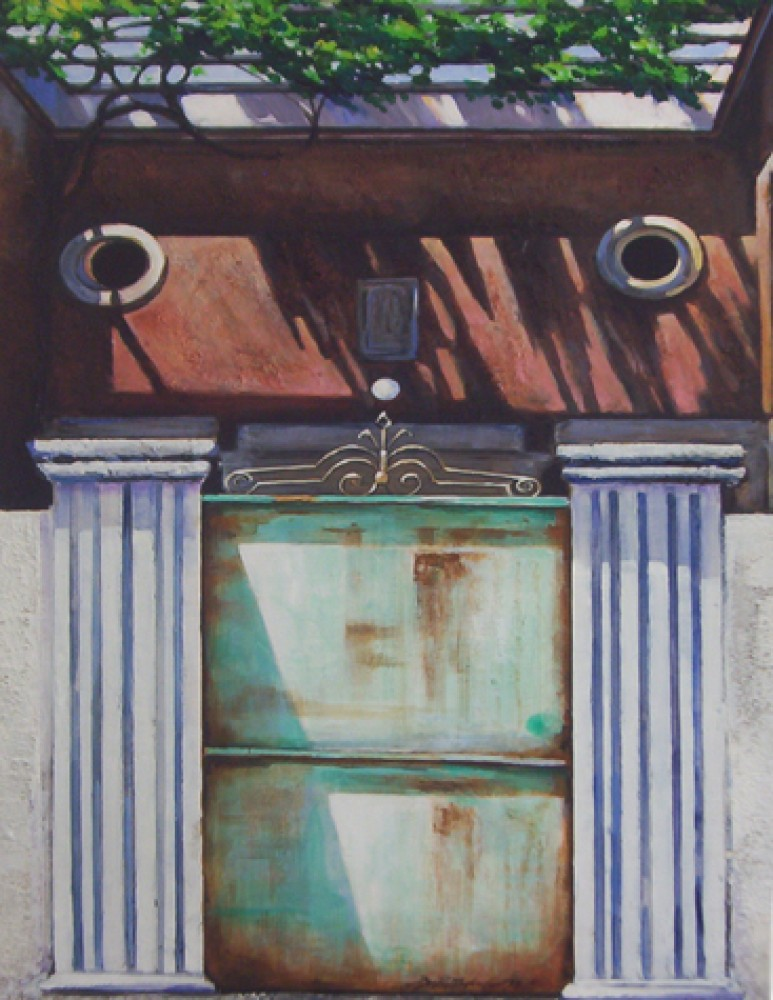 Turkish Bath 1980 48x36