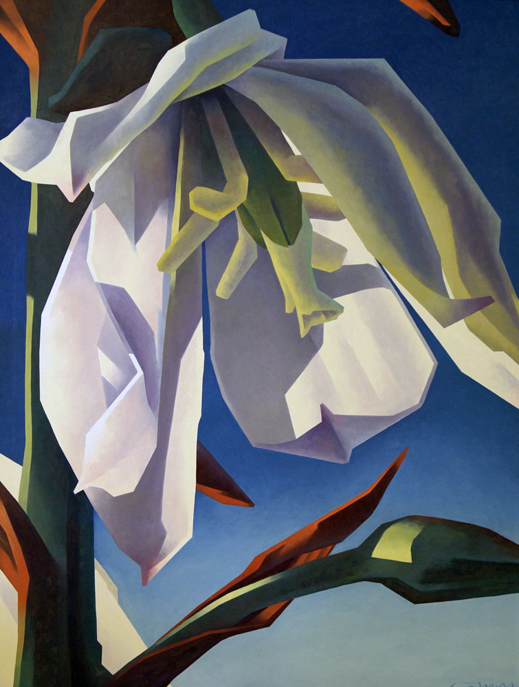 Yucca in Bloom 1989 61x49