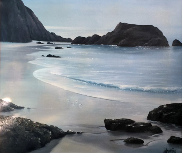 Untitled Seascape 30x34