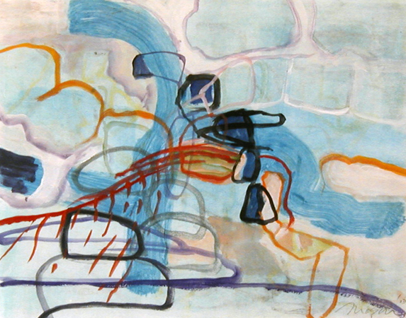 Untitled Monoprint 2003