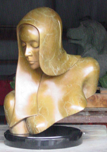 Juliet Bronze Sculpture 2012