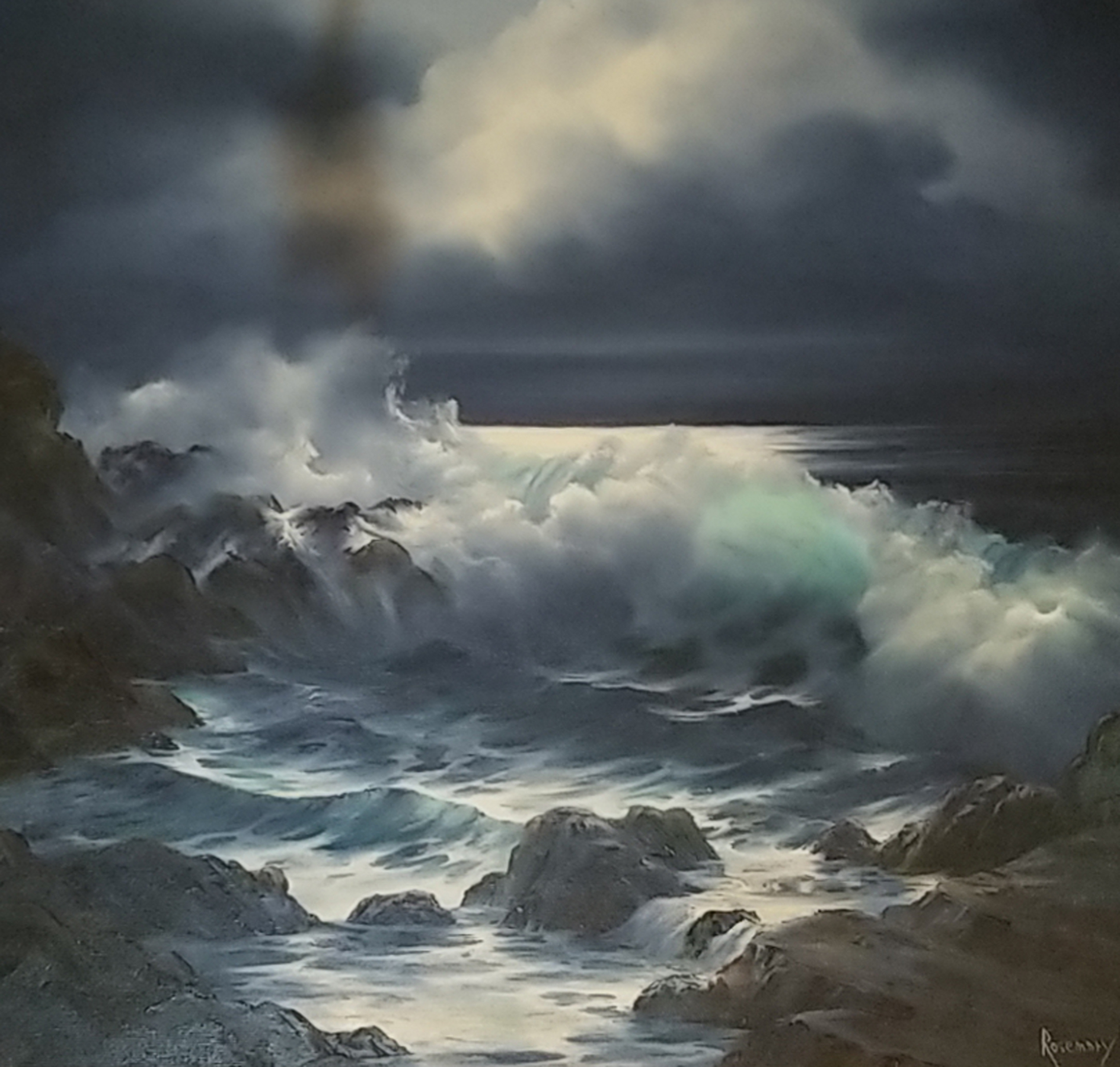 Untitled Seascape  36x36