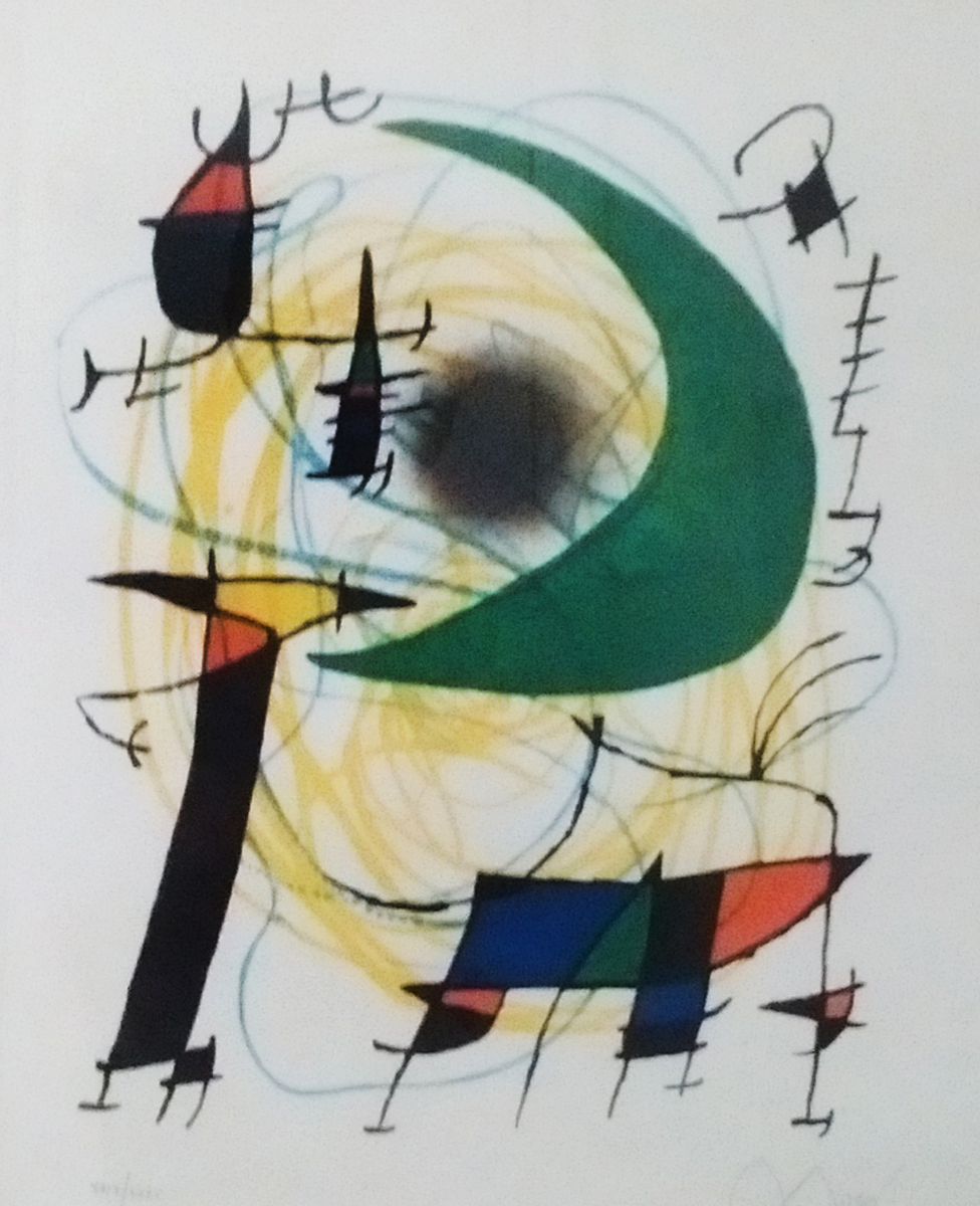 Untitled Lithograph 5 of Volume 1 1972