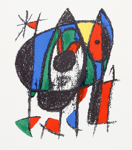 Lithograph II (M. 1041) 1975 by Joan Miro