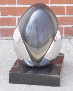 Untitled Egg Sculpture 1980