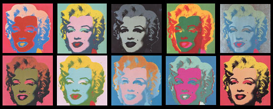 Andy Warhol: Sunday B. Morning, Marilyn Monroe Suite of 10