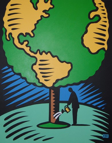 Tree World 1998  60x48