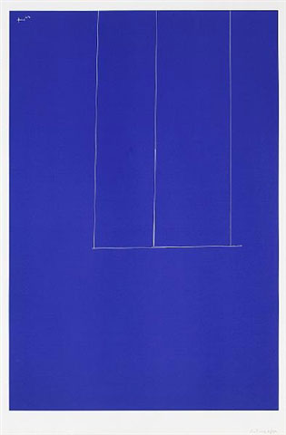London Series 1: Untitled (Blue) AP 1971