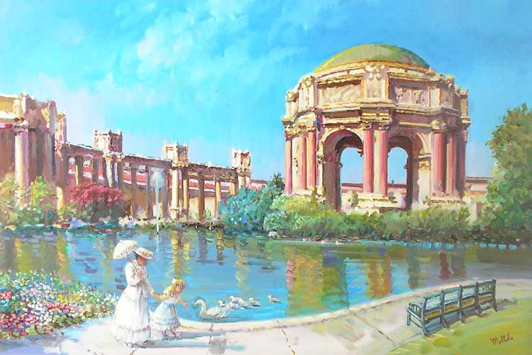 Palace of Fine Arts San Francisco 24x36