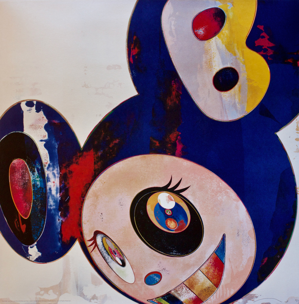 takashi murakami art for sale
