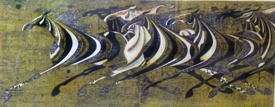 Rotation (Scampering Herd) 1968