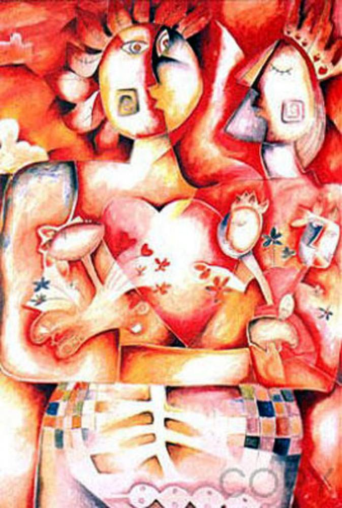 Alexandra Nechita Original Paintings For Sale