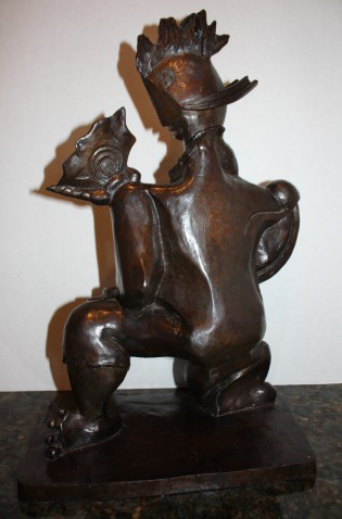 Victorious Spirit Bronze Sculpture 2004