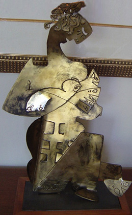 Close to My Heart  Bronze Sculpture 2005