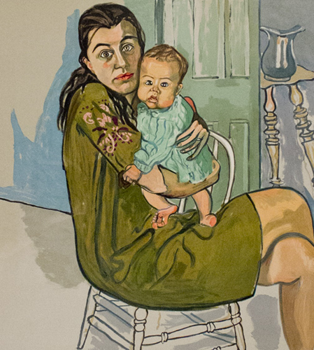 Mother and Child (Nancy and Olivia ) 1982