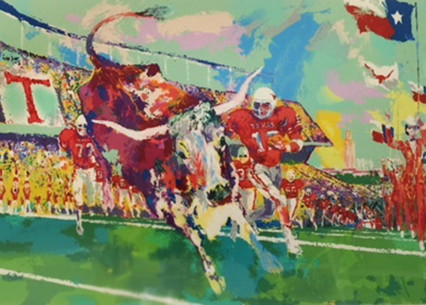 Texas Longhorns AP 1985