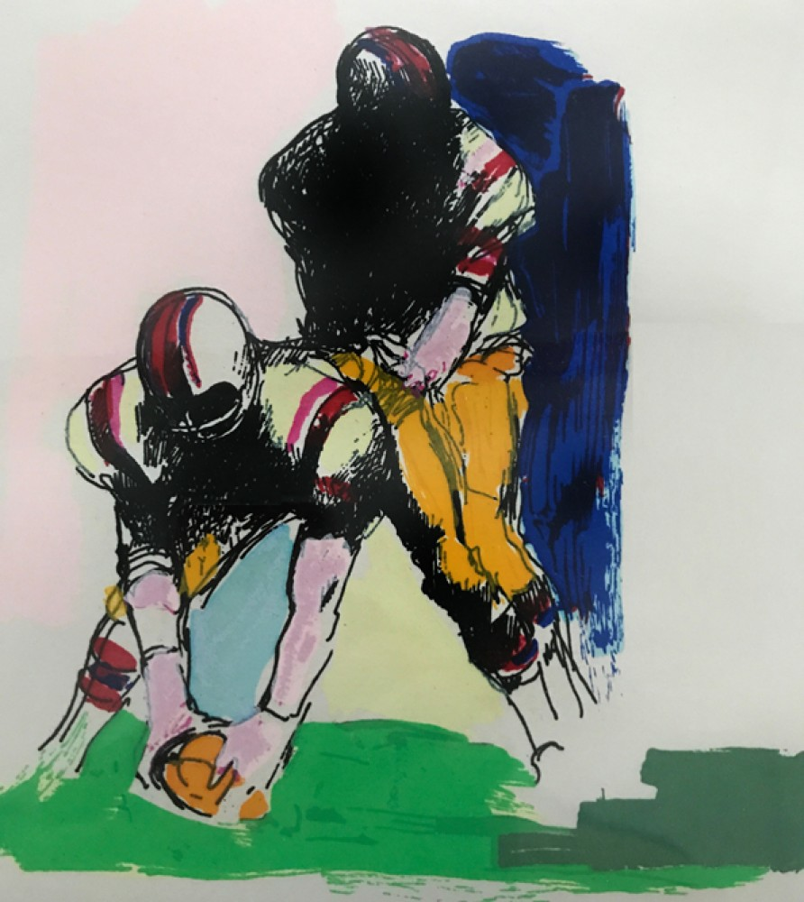 Untitled Football 1974