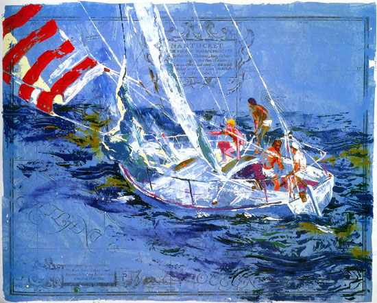 Nantucket Sailing 1980
