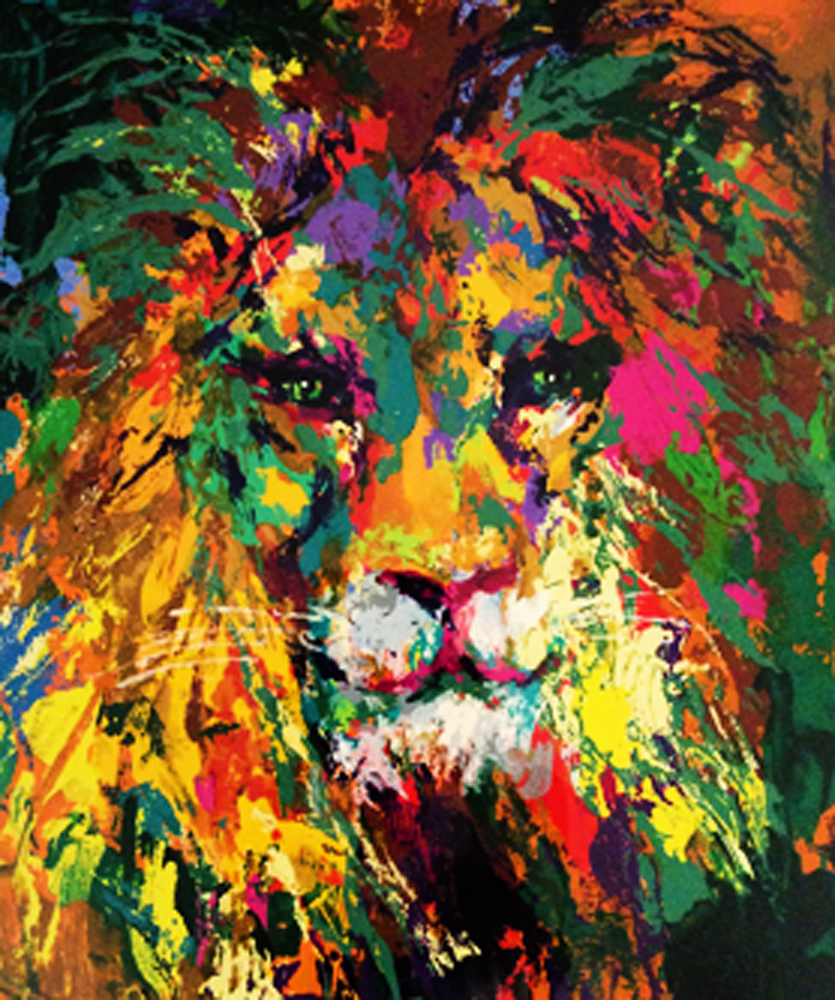 Portrait of a Lion 2002
