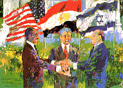 White House Signing of the Egyptian Israeli Peace Treaty 1978