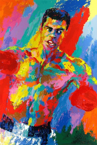 Muhammad Ali - Athlete of the Century w remarque
