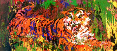 Young Tiger 1978 by LeRoy Neiman