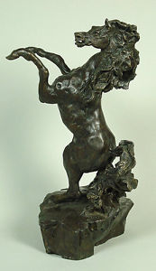 Defiant Bronze Sculpture 1988