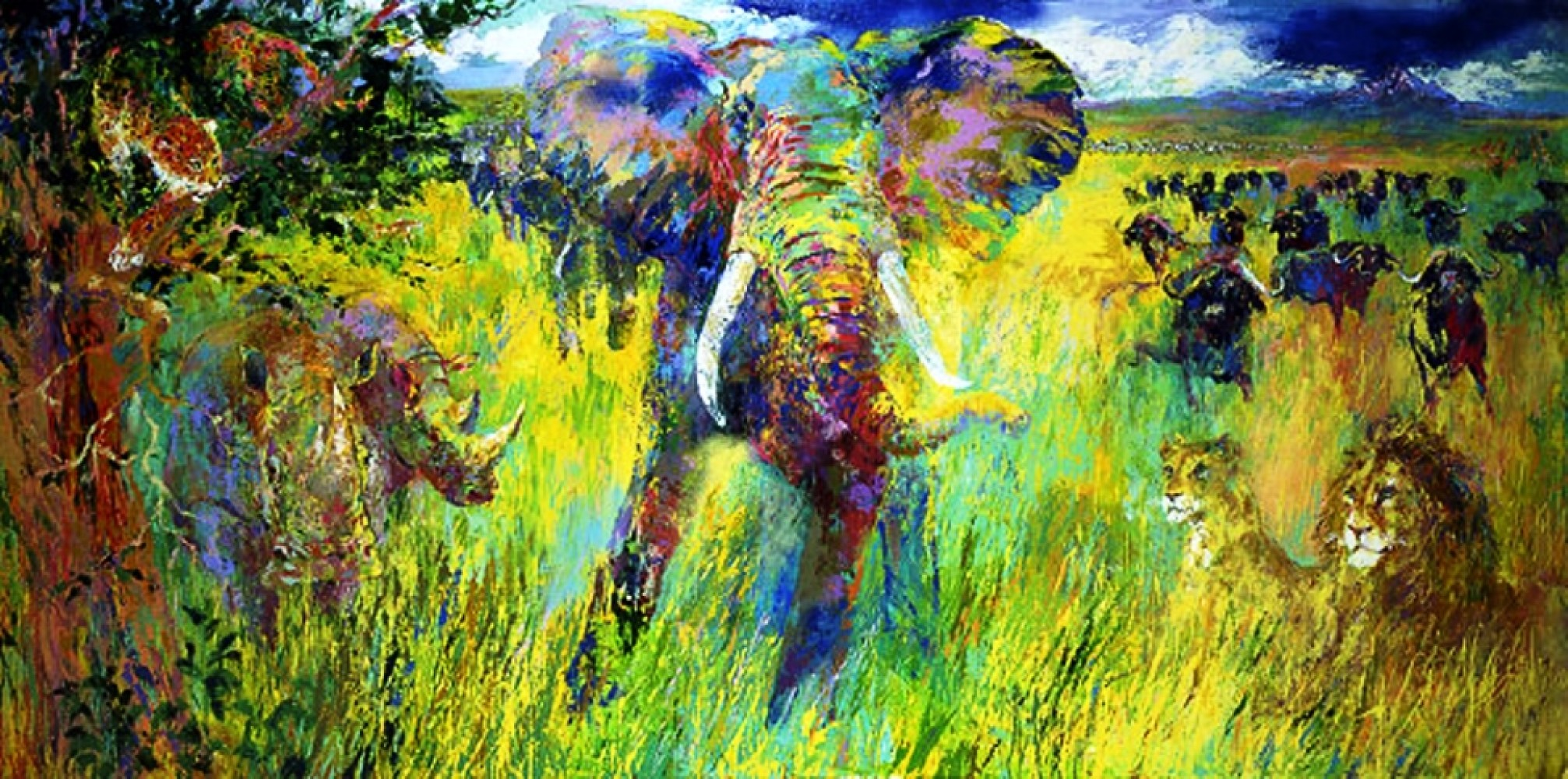Leroy neiman art for sale for Large artwork for sale