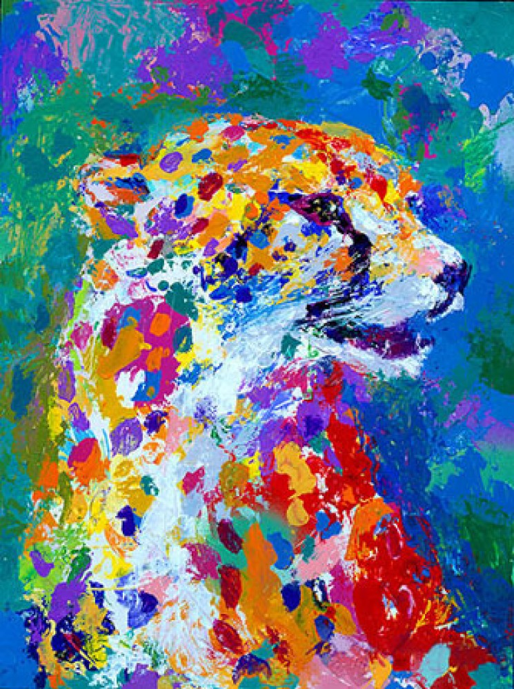 Portrait of a Cheetah 2004