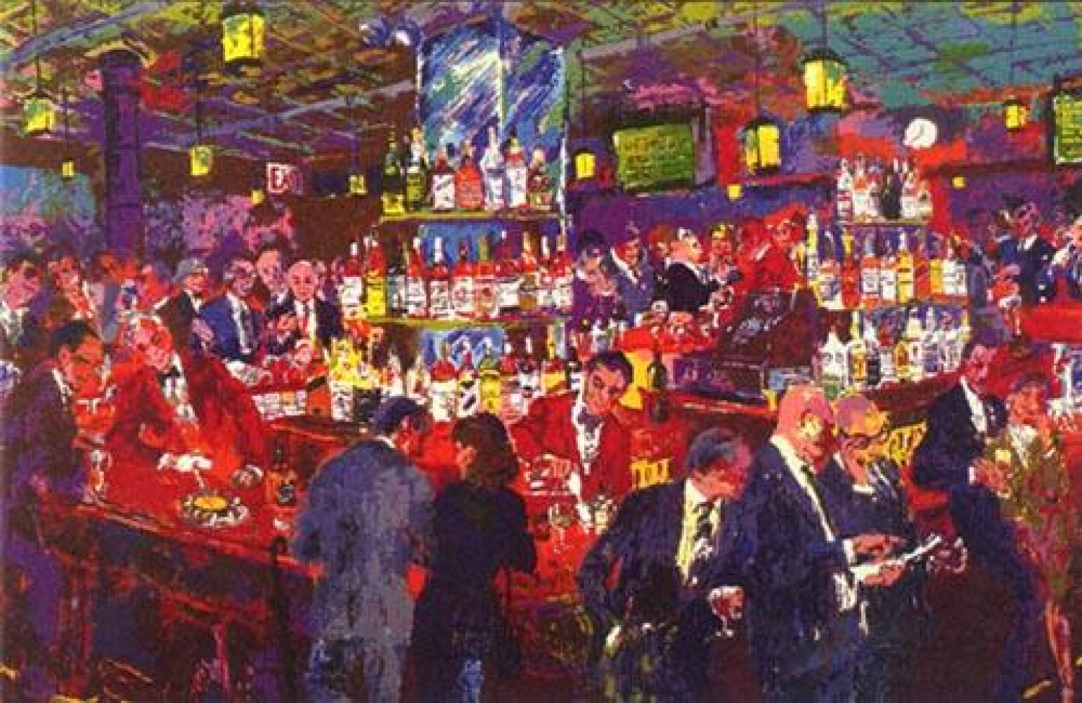 Harry's Wall Street Bar AP 1985