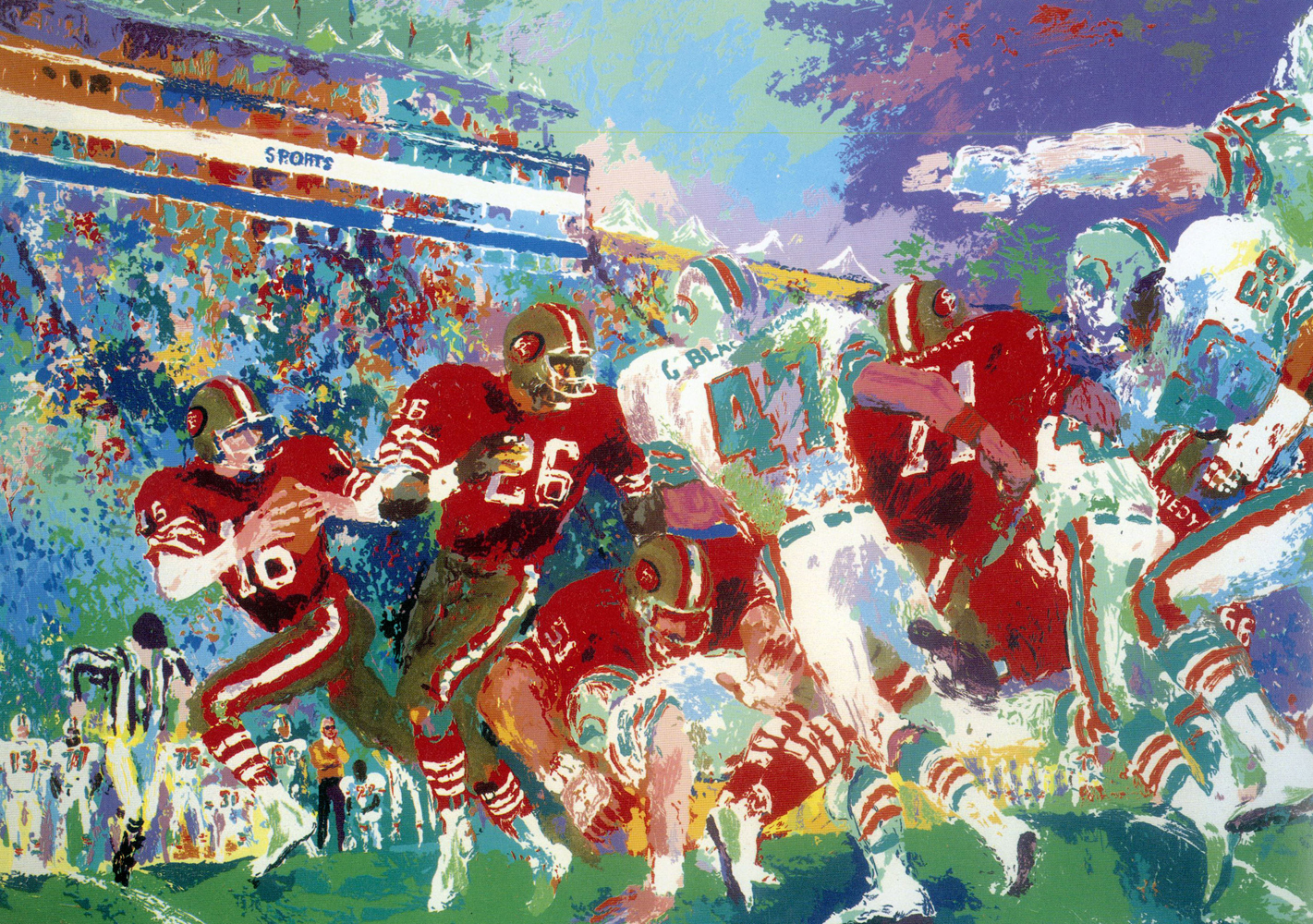 Post Season Football Classic 1985