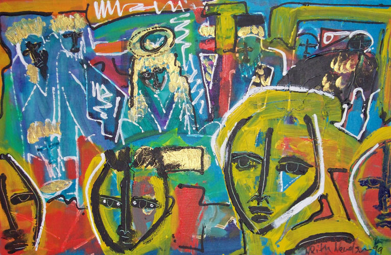 Neith Nevelson Paintings For Sale