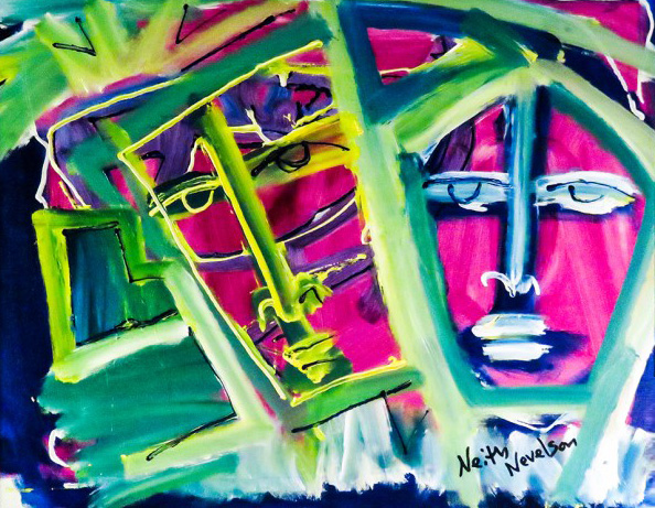 Two Faces 2014 by Neith Nevelson