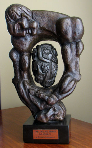 Twelve Tribes of Israel Bronze Sculpture 197814 in