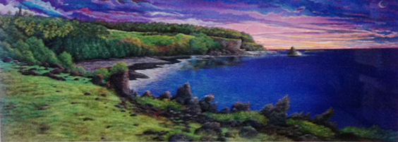 Amethyst Dawn At Kipahuku 1980
