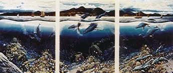 Reflections of Lahaina With Remarque AP 1988