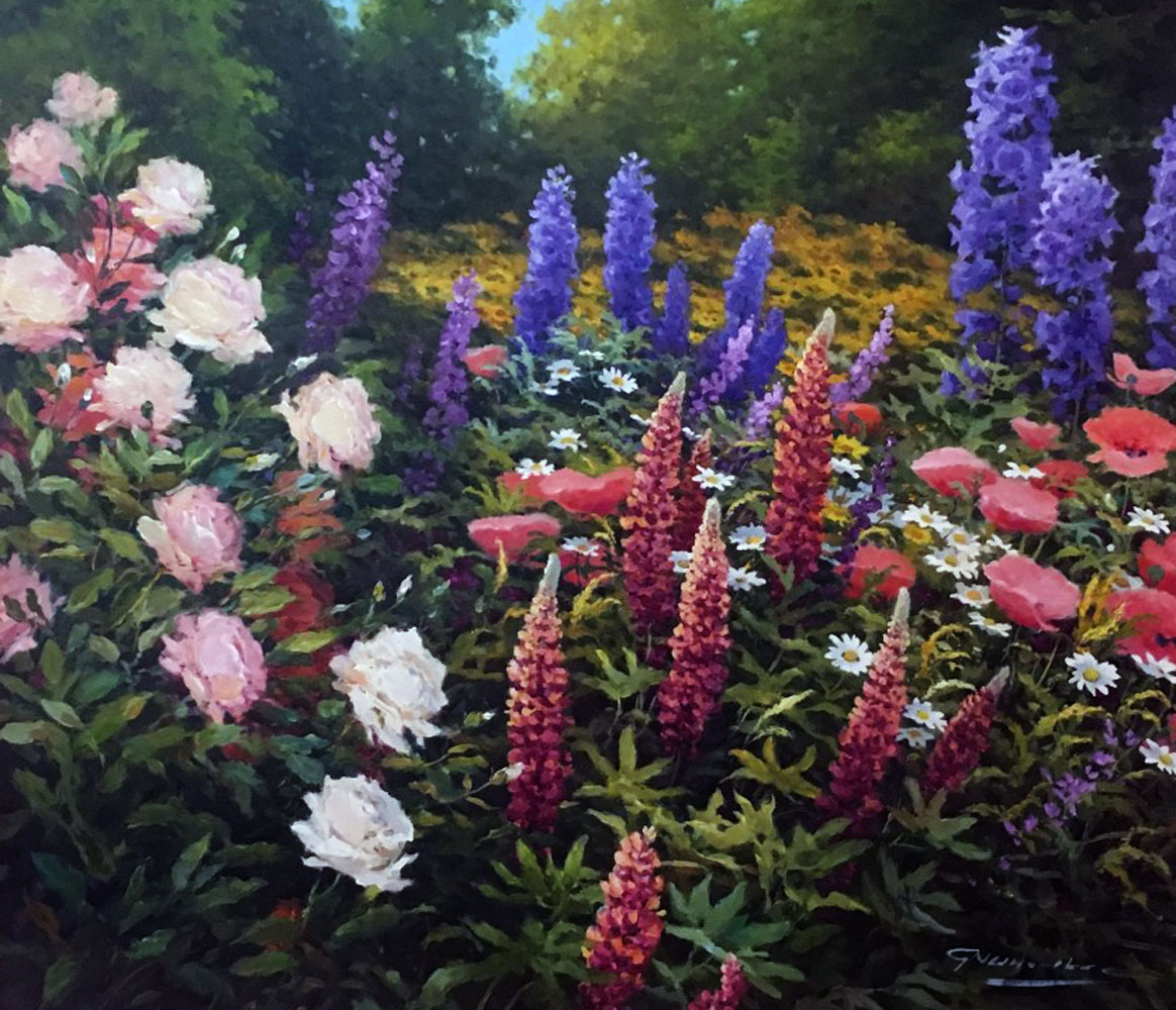 Flower Meadow 31x35