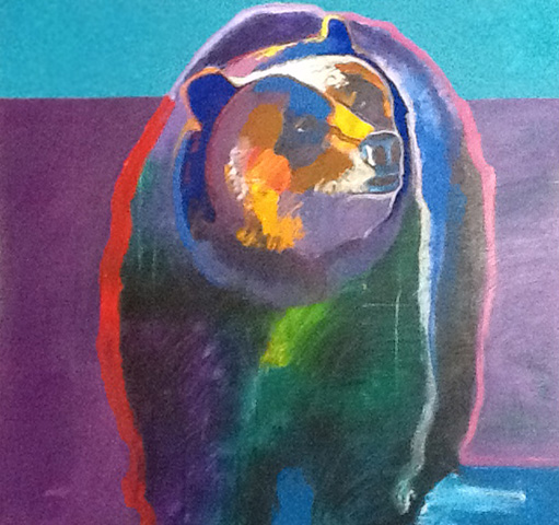 Grizzly Bear 2000 40x44
