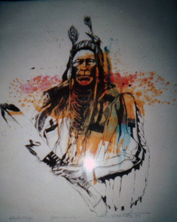 Crow Warrior 1977