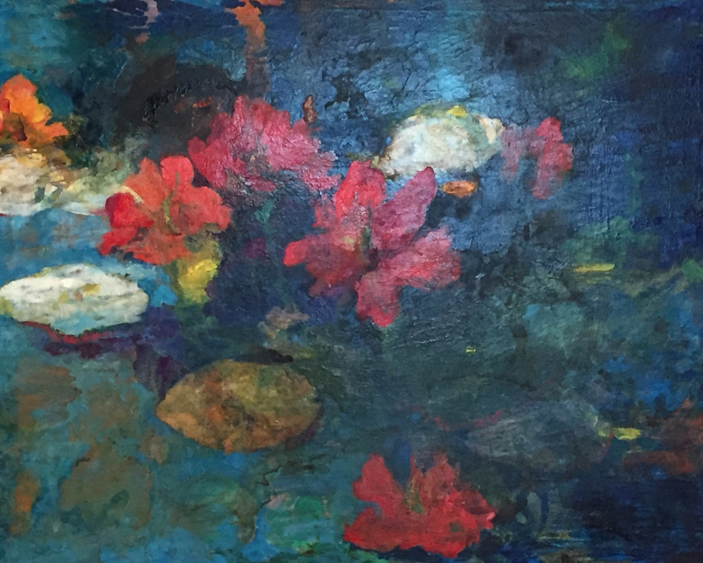 Waterlilies 1997 56x67