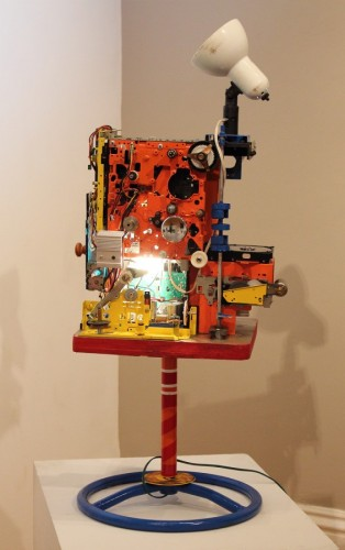 Singularity Mixed Media Assemblage Sculpture 2012 36x16