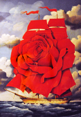 Red Rose Ship