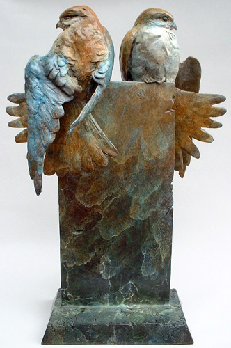 Union Bronze Sculpture 19 in