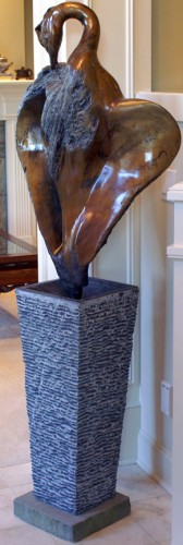 Of Grace Bronze Sculpture 39 in