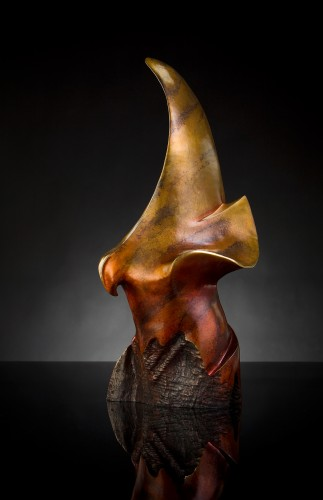 Expecting to Fly Bronze Sculpture   36 in