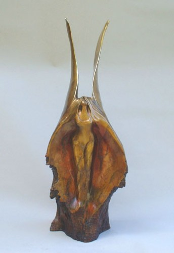 Phoenix Rising Bronze Sculpture 32 in