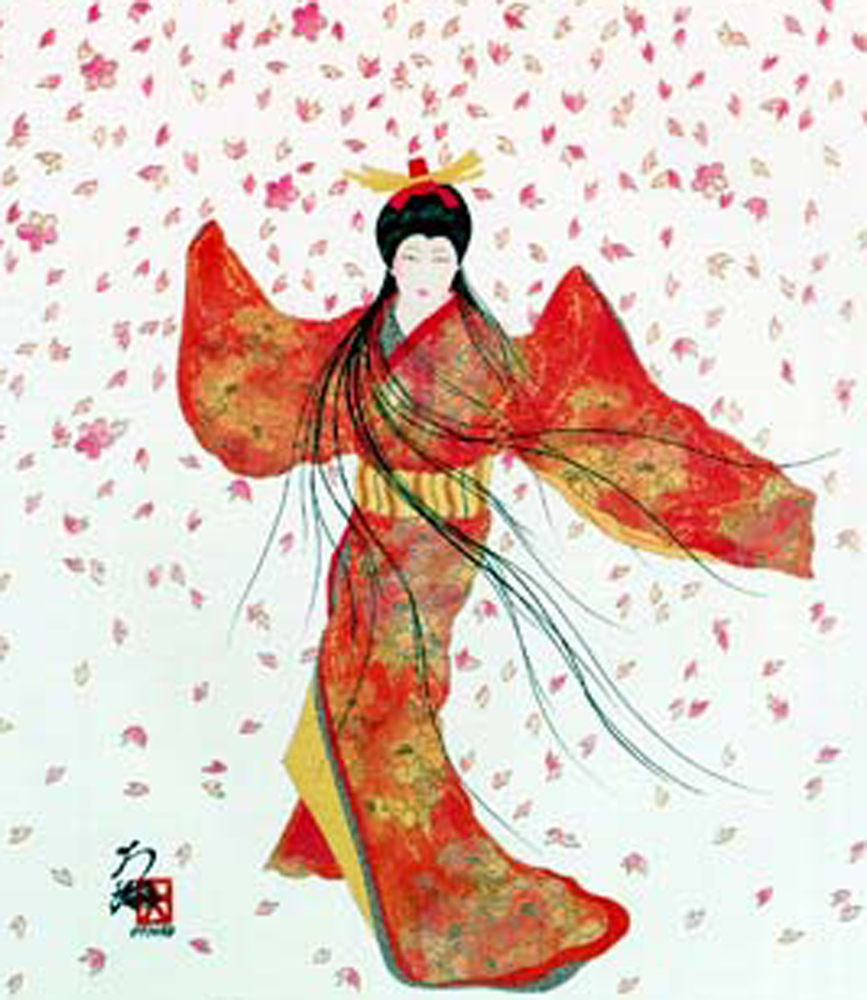 Lady of Floating Blossoms 1999