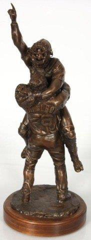 2005 World Series Red Sox Victory Embrace Bronze Sculpture 2008 26 in