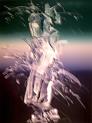 Untitled (Spirit Hunter) 1996 42x30